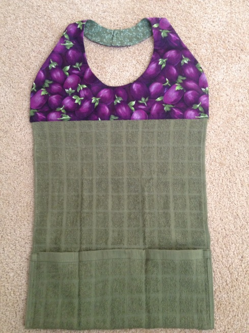 Diy Modern Apron Or Adult Bib Charity Sewing Project